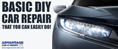 Five Basic DIY Car Repairs