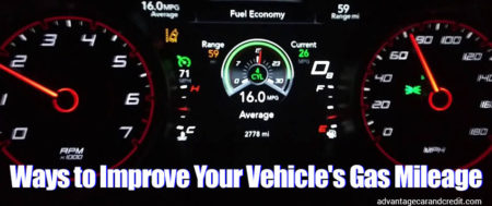 Ways To Improve Your Vehicle Mileage