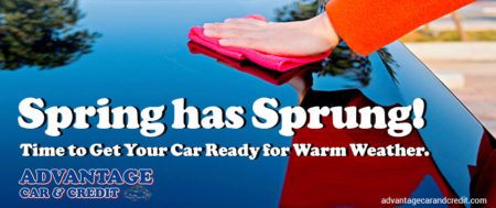 Spring Cleaning — How To Get Your Car Ready