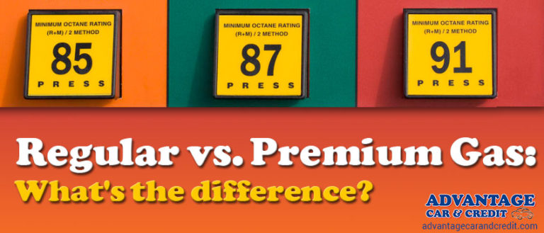Premium versus regular gas - What's the difference?