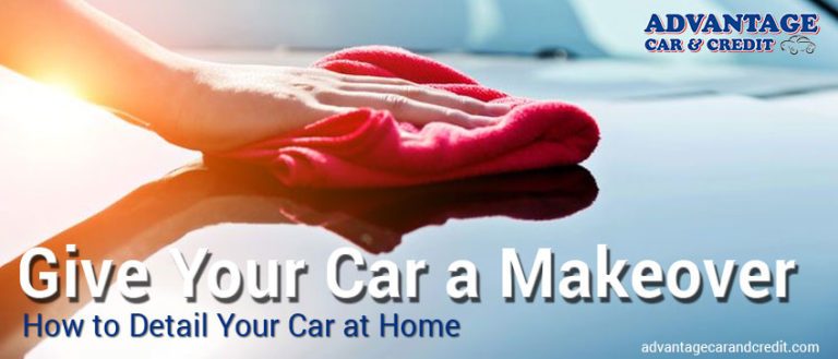 How to do car detailing at home