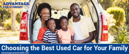 Choosing the Best Used Car for Your family